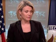 Спустя неделю после инцидента официальный представитель Госдепа Хизер Нойерт сообщила в Twitter, что авиаудар по Зардане был нанесен Россией