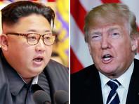 """Ранее северокорейское агентство ЦТАК сообщало, что стороны на встрече обсудят """"новые отношения"""" двух стран. Трамп и Ким Чен Ын обменяются мнениями по вопросам, представляющим взаимный интерес, говорилось в сообщении"""