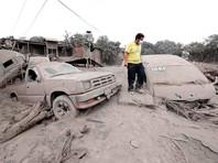 Число жертв извержения вулкана в Гватемале увеличилось до 75 человек, десятки пропали без вести