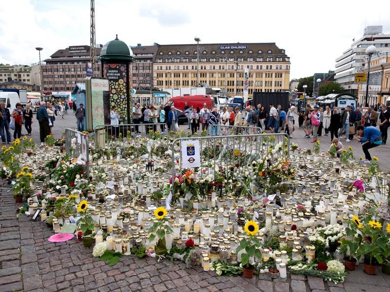 """В Финляндии марокканец, устроивший резню на улице, осужден пожизненно"""" />"""