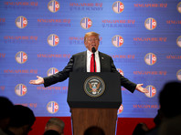 Северная Корея более не представляет ядерной угрозы для США. Об этом заявил президент Соединенных Штатов Дональд Трамп после своей исторической встречи с северокорейским лидером Ким Чен Ыном