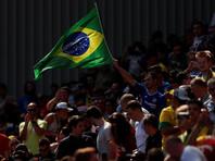 """Бразилия начала расследование против своих  """"мачо""""-болельщиков,  которые обманом заставили русскую девушку петь похабную кричалку"""