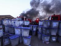 Как заявили в МВД страны, помещение, где хранились бюллетени с прошедших в мае парламентских выборов, не пострадало, урны были эвакуированы