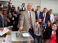 """Соперник Эрдогана после завершения выборов призвал граждан защитить урны для голосования от """"мошенничества"""" правящей партии"""