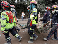 В Гватемале в результате извержения вулкана погибли уже 69 человек