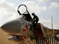 """Израильские самолеты ударили по позициям """"Хамаса"""" в ответ на субботний обстрел"""