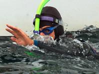 Французский пловец Бенуа Лекомт начал первый в истории заплыв через Тихий океан
