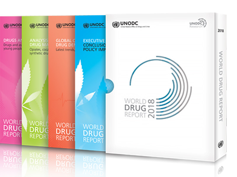 В мире растет производство наркотиков. Хотя бы раз в год их употребляют порядка 275 млн человек в возрасте от 15 до 64 лет, свидетельствует доклад Управления ООН по наркотикам и преступности
