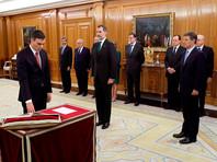 Между тем в этот же день к присяге был приведен и новый премьер-министр Испании социалист Педро Санчес