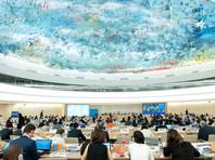 """Сотрудники британской правозащитной организации Article19 заявили на сессии Совета по правам человека ООН о том, что политика РФ угрожает """"мировой паутине"""" и пользователям интернета"""