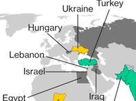 """Bloomberg показал карту с """"нейтральным"""" Крымом"""