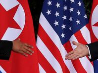 """Глава Белого дома назвал прошедшую встречу с Ким Чен Ыном """"интересным и очень позитивным опытом"""". По его мнению, """"Северная Корея имеет большой потенциал в будущем"""""""