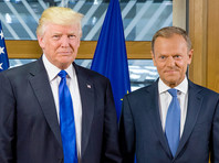 Дональд Трамп и Дональд Туск