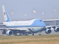 Самолет американского президента приземлился на военном аэродроме неподалеку от Брюсселя