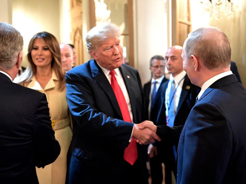 """Трамп """"с нетерпением"""" ждет новой встречи с Путиным"""" />"""