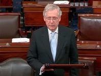 Лидер республиканцев в Сенате США высказался за дополнительные санкции в отношении РФ