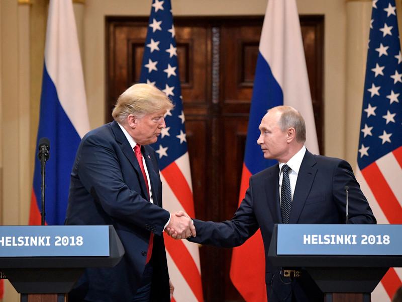 """На саммите в Хельсинки Путин предложил американцам допросить граждан РФ по делу о вмешательстве в выборы"""" />"""