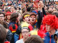 Фанаты устроили беспорядки в Брюсселе и Париже после полуфинала чемпионата мира