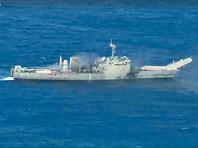 США на учениях с союзниками в Тихом океане  уничтожили собственный  десантный корабль (ВИДЕО)