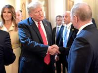 Владимир Путин, дональд и Мелания Трамп, 16 июля 2018 года