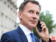 Премьер-министр Великобритании Тереза Мэй назначила Джереми Ханта новым главой Министерства иностранных дел страны вместо ушедшего в отставку Бориса Джонсона