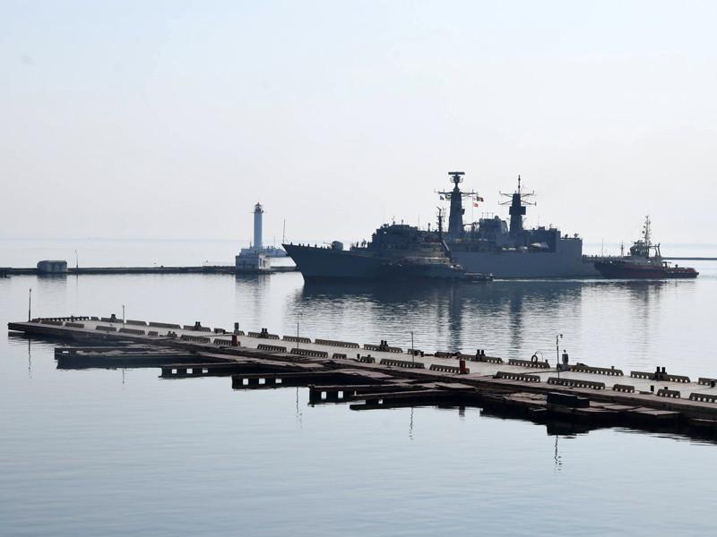 В одесском порту пришвартовались шесть кораблей стран НАТО