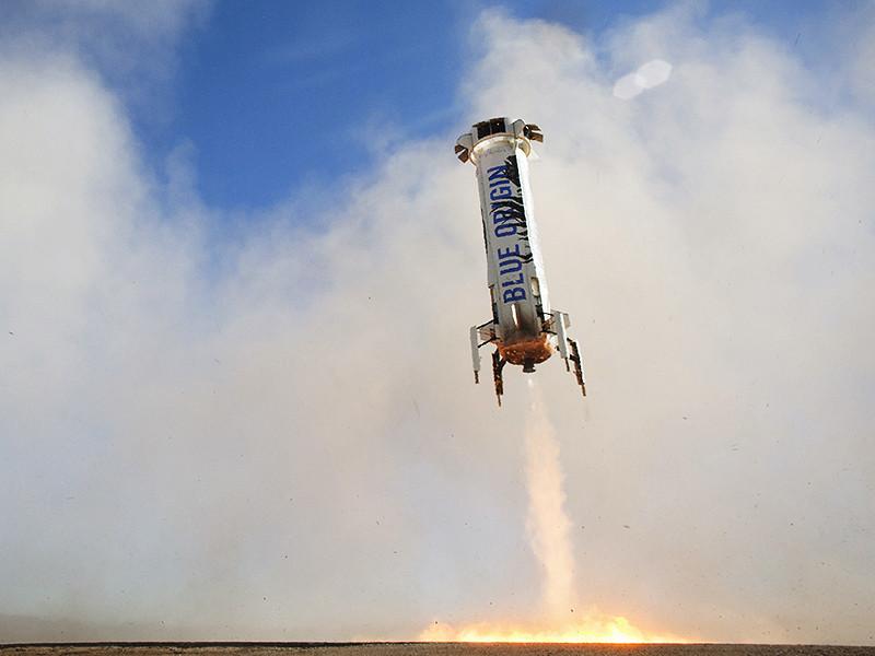 """Reuters узнало стоимость билета в космос для туристов на аппарате New Shepard"""" />"""