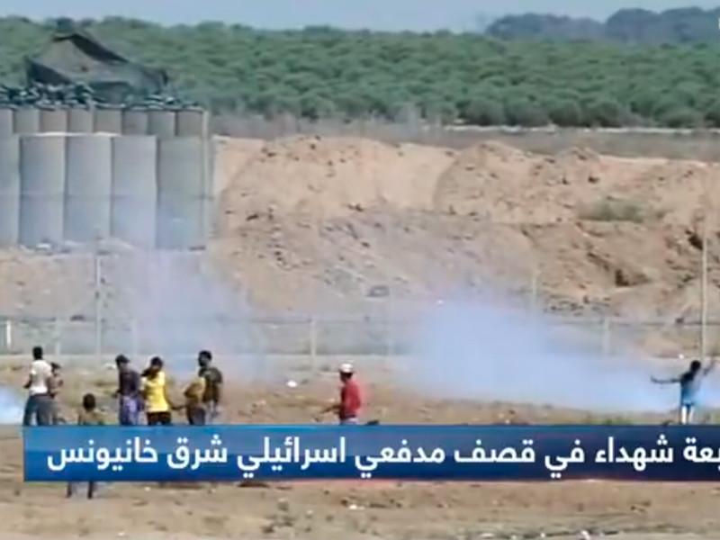 """Очередной """"марш возвращения"""" палестинцев обернулся массированными ударами Израиля по сектору Газа"""" />"""