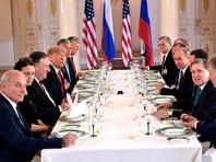 Российско-американские переговоры с участием членов делегаций в формате рабочего завтрака