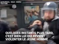 Задержанный экс-советник Макрона, уличенный в избиении демонстранта, объяснил свои действия желанием помочь полиции