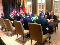 Собеседники газеты рассказали, что соответствующие разведданные были получены накануне саммита между Ким Чен Ыном и президентом США Дональдом Трампом, который состоялся в Сингапуре 12 июня