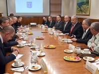 В центре переговоров были вопросы обеспечения безопасности вдоль границ Израиля и ситуация, сложившаяся на юге Сирии