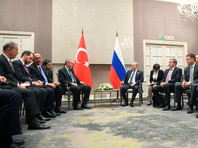 В Йоханнесбурге состоялась встреча Владимира Путина с президентом Турции Реджепом Тайипом Эрдоганом