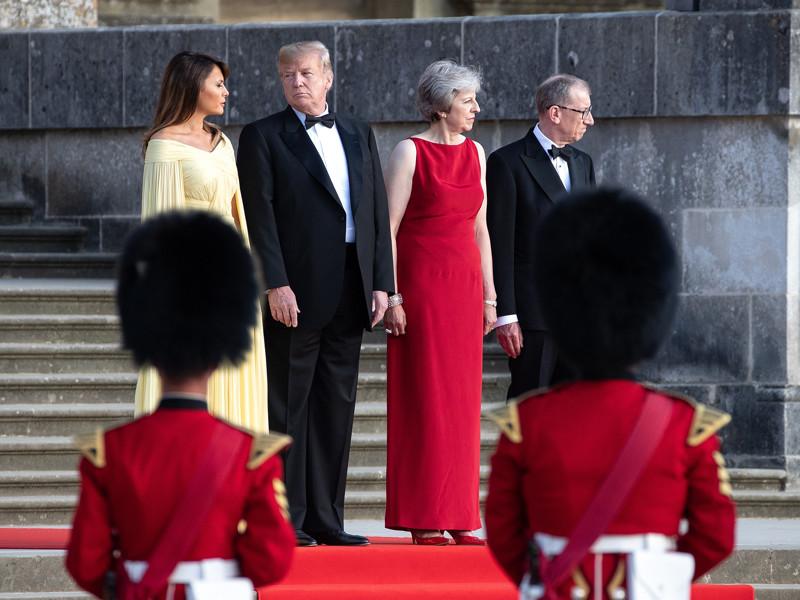 """Мэй рассчитывает на """"хорошую сделку"""" с США после Brexit"""" />"""
