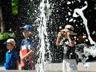 Практически на всей территории Японии в последние несколько дней установилась жаркая и влажная погода, когда температура днем стабильно превышала плюс 30 градусов по шкале Цельсия. В некоторых районах страны температура достигала отметки в 39 градусов