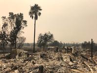 Пожар уничтожил уже 723 дома и постройки и угрожает чуть более 5 тыс. строений. Число жертв не изменилось и составляет шесть человек