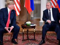 Путин и Трамп проводят встречу в Финляндии