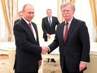 """""""Уступок не будет"""": Болтон отверг обвинения в чрезмерной мягкости к Путину"""