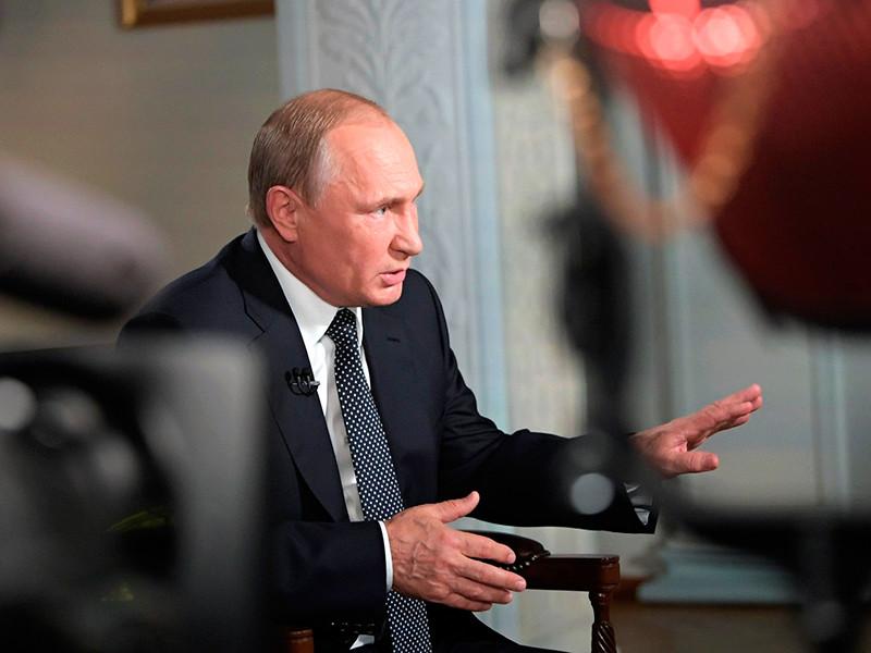Путин заявил Fox News, что присоединение Крыма - не аннексия, а демократия
