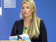 Об этом заявила на брифинге в Брюсселе официальный представитель Еврокомиссии Мина Андреева