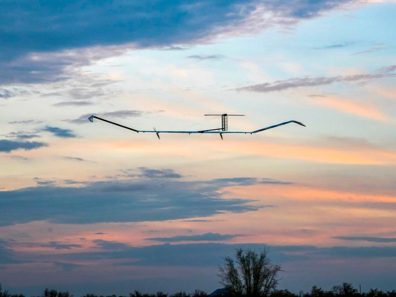 Успешно завершился первый испытательный полет беспилотного летательного аппарата (БЛА) Zephyr S производства Airbus