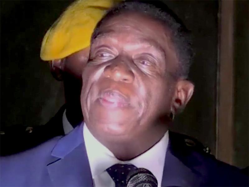 На выборах президента Зимбабве выиграл Эммерсон Мнангагва