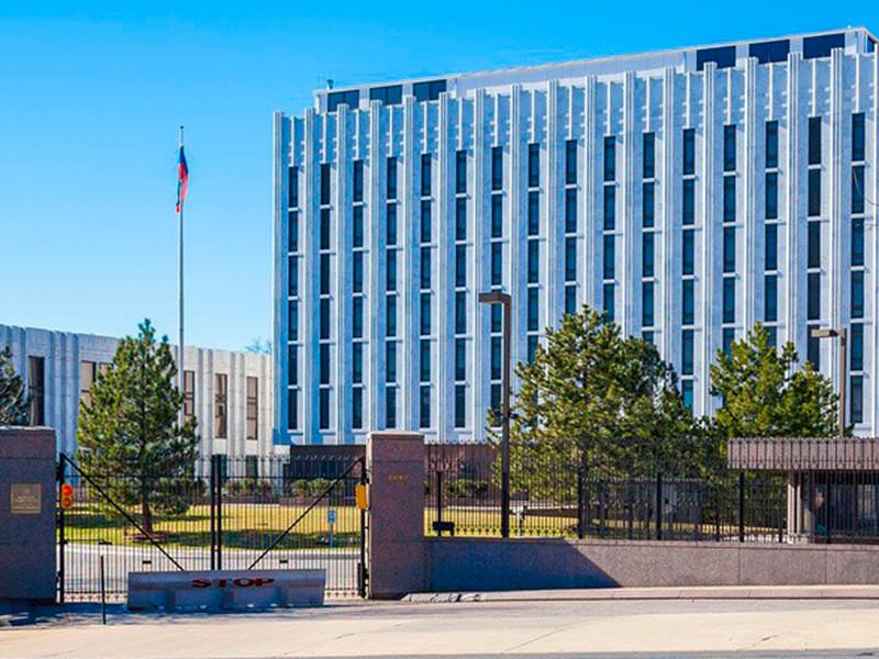"""Посольство РФ призвало США прекратить вступаться за """"бесчинствующих на Азовском море подопечных"""""""