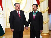Президент Таджикистана наградил сына орденом