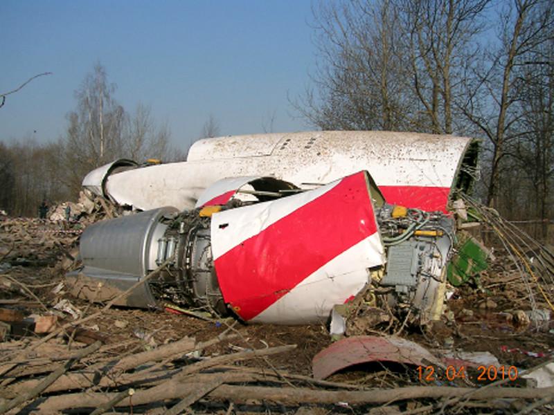 Ту-154 потерпел крушение 10 апреля 2010 года при заходе на посадку в аэропорту Смоленск-Северный