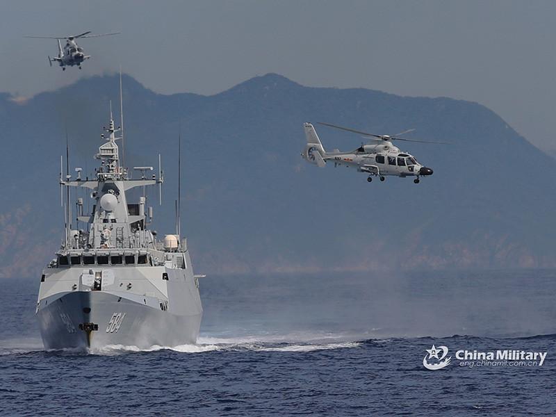 Министерство обороны США полагает, что КНР может проводить учения по нанесению ударов по США и их союзникам