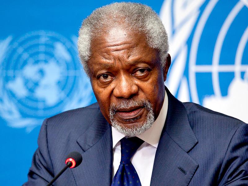 """Умер бывший генеральный секретарь ООН Кофи Аннан"""" />"""