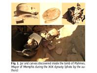 В окрестностях Каира найден кусок древнеегипетского сыра, которому более 3200 лет