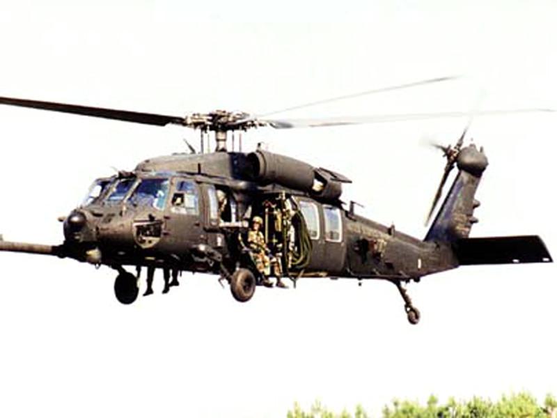 В Ираке потерпел крушение военный вертолет США: погиб один человек