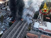 В окрестностях аэропорта Болоньи произошел взрыв (ВИДЕО)